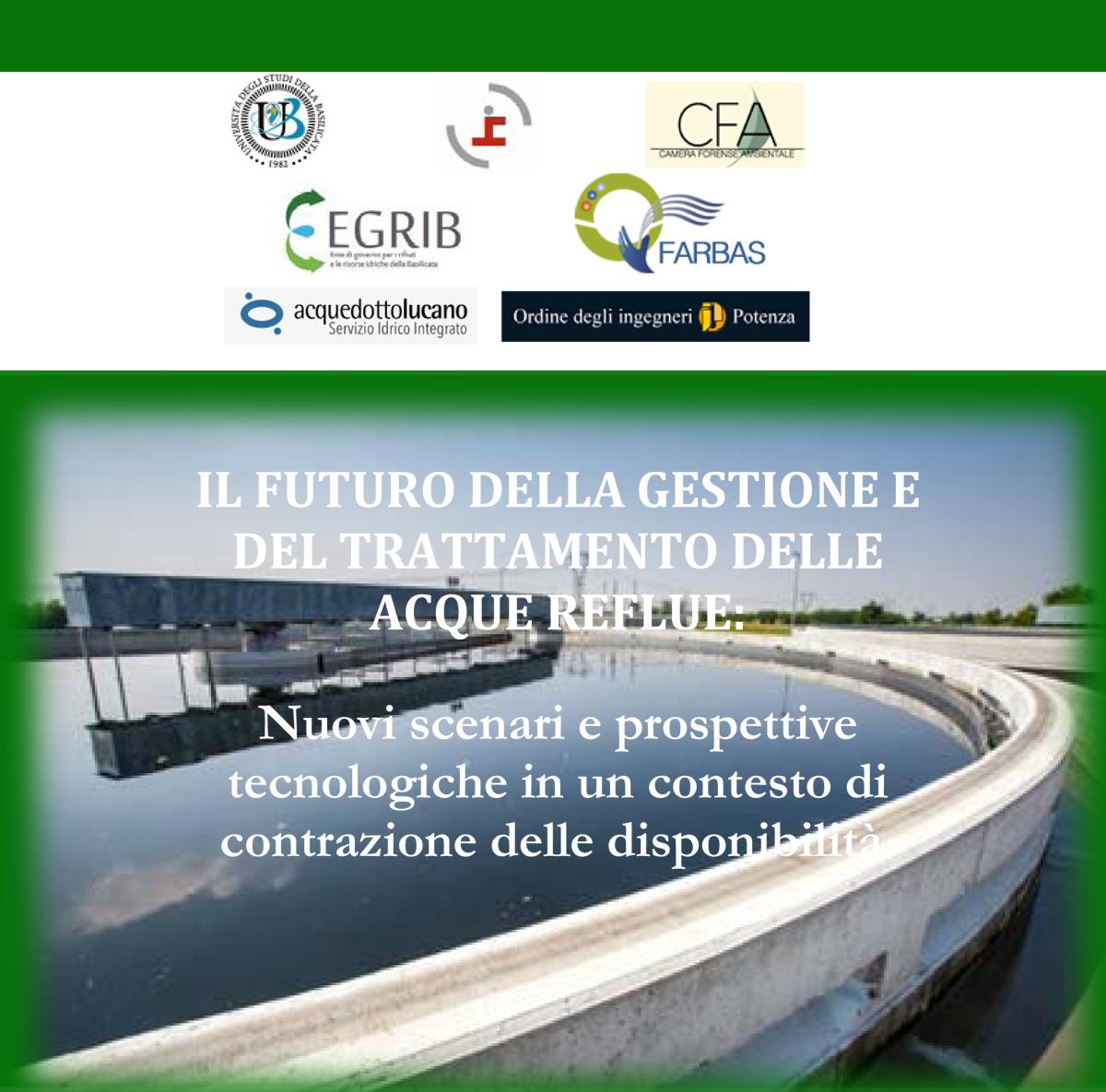 Ordine Ingegneri Potenza Albo il futuro della gestione del trattamento delle acque reflue